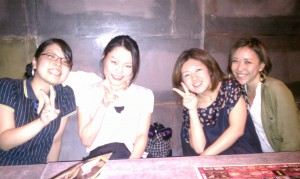 friends, japan, tokyo, erika walton, alter ego jewelry, shopping, food, party