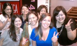 japan, haruko, azusa, chica, yui, megumi, sachiko, japan, girls, tokyo, fun, night, bar, alter ego jewelry, erika walton, shopping, hiking