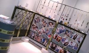 tradeshow, rooms, japan, tokyo, fun, work, play, jewelry, alter ego by erika walton jewelry, erika walton, warner brothers, looney tunes, super heros, batman, superman, wonder woman, dinosaurs, tweety bird, sushi