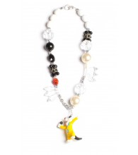 Sylvester Black & White Necklace